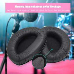Replacement-Ear-Cushions-Covers-for-Sennheiser-RS160-RS170-Headphones-Black