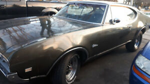 1968 Oldsmobile Cutlass 2 dr  Coupe  still available
