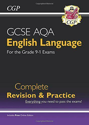 Neuf Gcse English Language Aqa Complete Revision & Practice - Pour Grade 9-1
