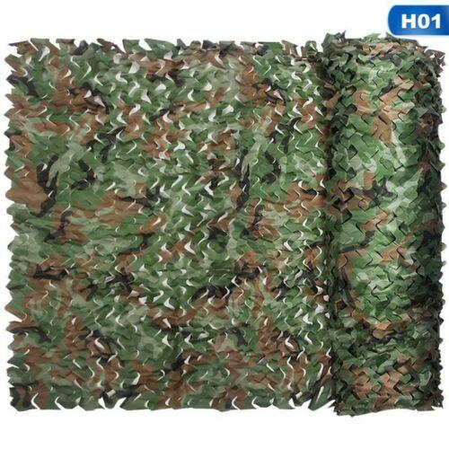 Woodland Camouflage Camo Net Netting Camping Military Hunting Shade EgGSa xile