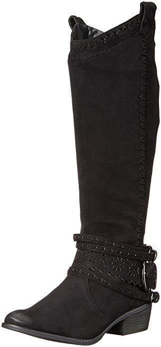 Non coté femme Lady SWAG démarrage bottes noires nrtb 0174-001