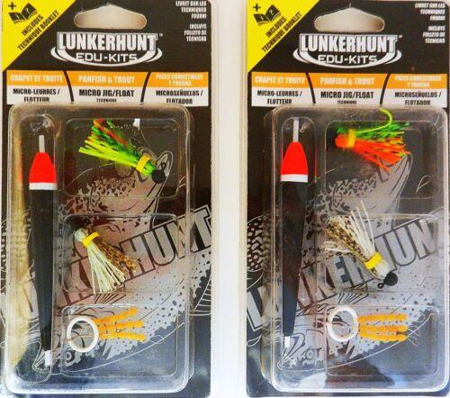 micro jig//float   Panfish /& Trout Lunkerhunt EK141 Edu-Kits 2 PACK