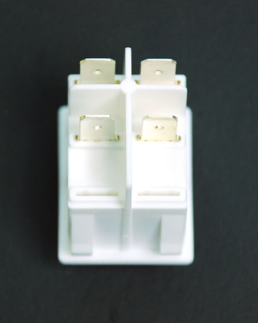 20pc EVEREL Rocker Switch SX82 82.xx.8 4P 20A 125VAC 16A250VAC Red Lamp UL ENEC