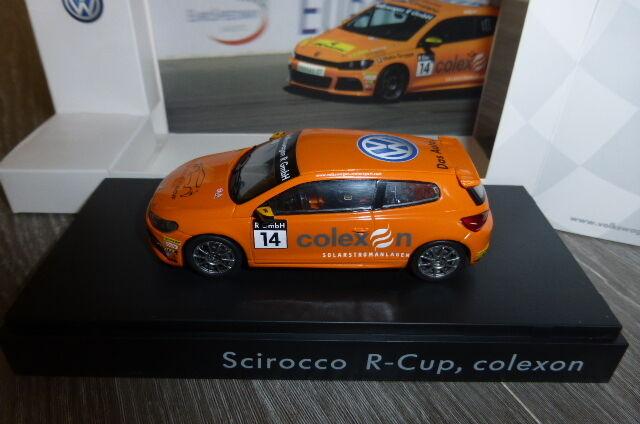 VW VOLKSWAGEN SCIROCCO III R-CUP  14 COLEXON 2011 SPARK 1 43 TIMMY MEGENBIER