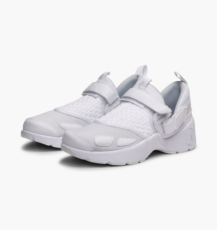 897992-100 Jordan Trunner LX Running shoes White Pure Platinum Sizes 8-12 NIB