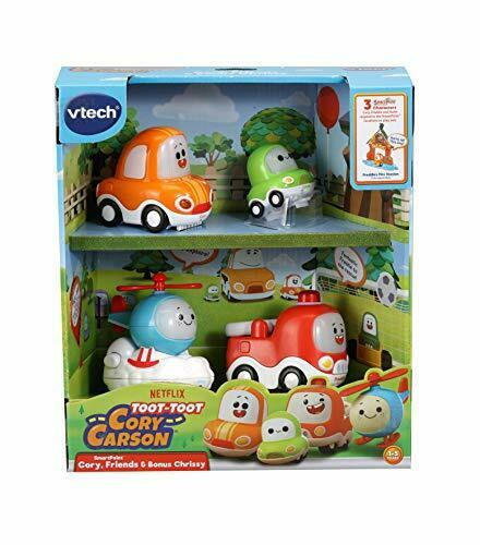 Juguete Niños Coche Con Sonidos Y Vtech Toot-Toot Drivers Cory Carson Starter Pack