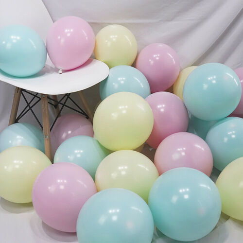 50 pcs 10inch Latex Balloon  Color Wedding Birthday Party New Year Gradu