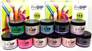 Details about EzFlow TruDIP Colored Acrylic Dip Powder 2oz/56g SERIES 4 -  Pick Your Color