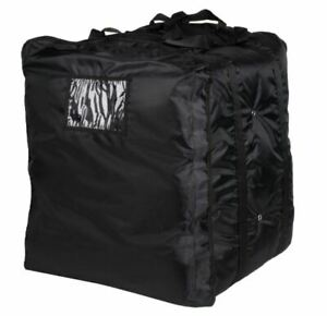 Details About Servit Insulated Pizza Delivery Bag Black Soft Sided Heavy Duty Nylon 20 X
