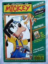 ANCIEN JOURNAL DE MICKEY / PASSEPORT GRATUIT PARC DISNEYLAND PARIS / 1991