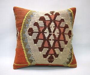 Kilim-Square-Pillow-16x16-in-Sofa-Pillow-Throw-Pillow-Decorative-Pillow