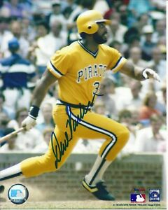 Dave Parker Autographed 8x10 Pittsburgh Pirates Free Shipping  #3