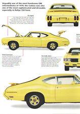 1970 Oldsmobile Cutlass Rallye 350 Article - Must See !!