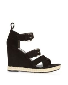 a8f38f35b2bd Image is loading balenciaga-tree-strap-espadrille-wedge-suede-sandals-women-