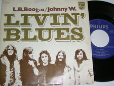 "7"" - Livin Blues - L.B.Boogie & Johnny W. - Dutch 1971 # 5305"