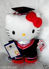 "Sanrio HELLO KITTY 12"" Plush Doll Graduation GIFT school university girls Grad Q"