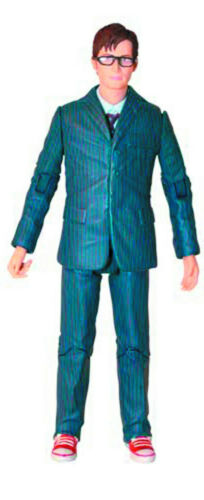 """Blue Suit Glasses 5/"""" Action Figure David Tennant New Doctor Who 10th Dr"""