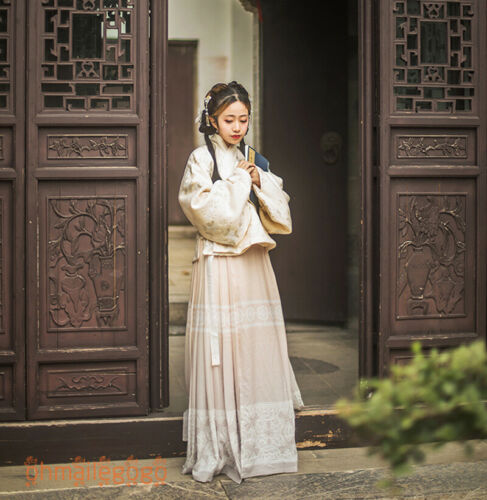 Women/'s Dress Hanfu Ancient Costume Tops Skirt Cosplay Dance Retro Traditional