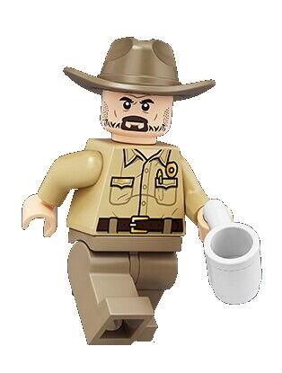 Lego ® 75810 Minifigs-Stranger Things-st007-Chief Jim Hopper