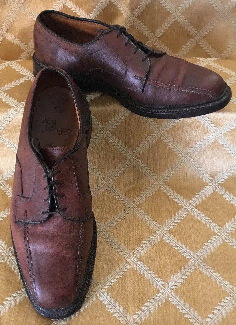 Allen Edmonds Size 8.5 D Brown Leather Mens Oxford
