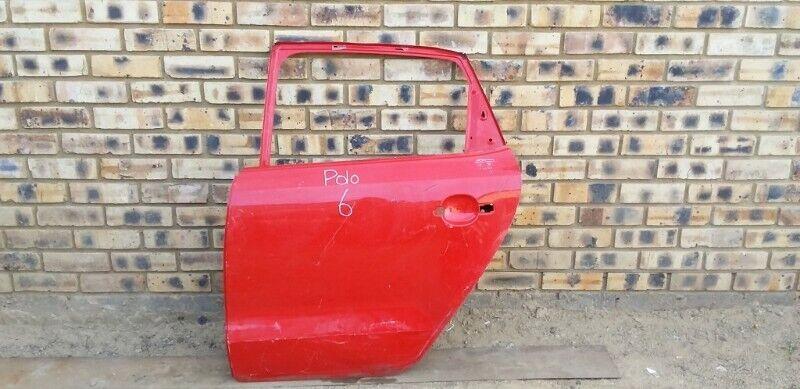 Volkswagen Polo 6 Left Rear Door
