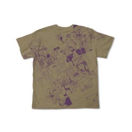 Utsurun Desu. All Print Koma Sand Khaki maglietta