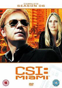 CSI: Miami - Complete Season 6 (DVD)