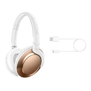 Philips-Flite-Everlite-SHB4805RG-Auriculares-Bluetooth-Inalambricos-Oro-Rosa