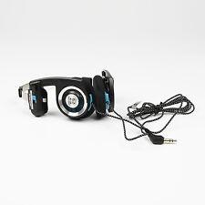 Koss Porta Pro HIFI Good Bass Headphones Blue-Black(Nylon Cable) In Bulk Package