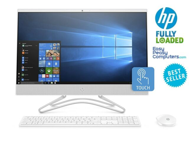 "HP All in One Computer TOUCHSCREEN 24"" Windows 10 8GB 1TB DVD+RW (FULLY LOADED)"