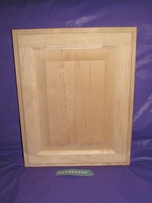 Maple Unfinished Stain Grade Kitchen Cabinet Raised Panel ...
