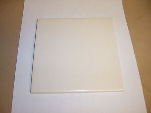 Details About 1pc New Old Stock 154x154 Almond Cream Off White 6 Ceramic Wall Floor Tile