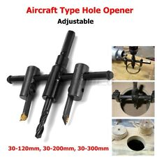 1.1-11in Adjustable DIY Woodworking Tools Circle Hole Saw Drill Bit Cutter Set