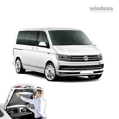 nur f/ür Fahrzeuge mit Innenverkleidung VW T5 Bus Sonnenschutz Sichtschutz Insektenschutz Sonniboy f/ür die Heckscheibe