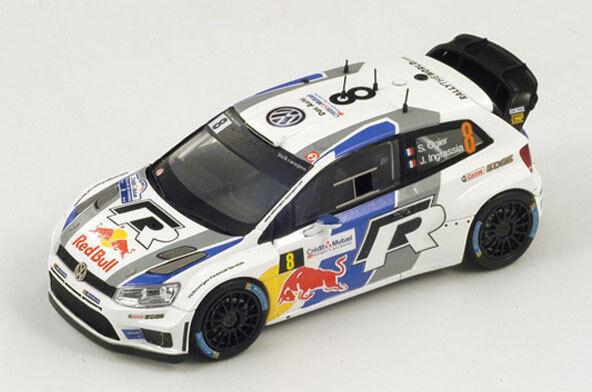 SPARK Volkswagen Polo WRC #8 World Champion Rally Francia 2013 Ogier S3314 1/43