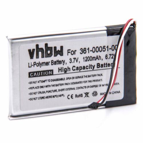 Navi acu batería 1200mah para Garmin nüvi 2460lmt