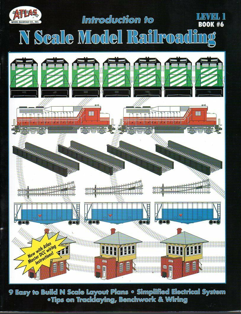 Books Guides Dcc Wiring N Scale Model Railroading Level 1 Book 6 2001