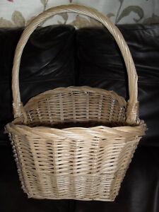 Wicker-Basket-inc-Handle-16-039-039-High-16-039-039-Wide-12-039-039-Deep-Collect-Epsom-KT19