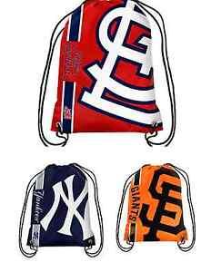 MLB Baseball Team Logo 2015 Drawstring Backpack - Pick Your Team!
