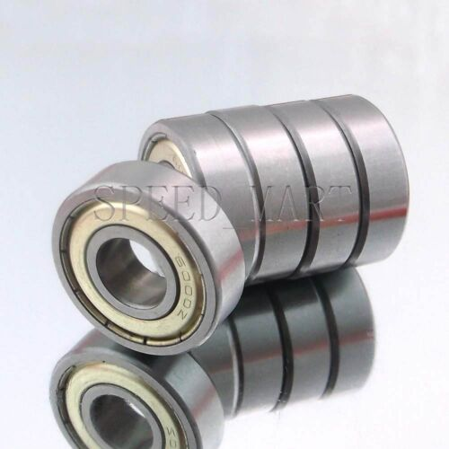 12mm*28mm*8mm 5PCS 6001ZZ Deep Groove Metal Double Shielded Ball Bearing