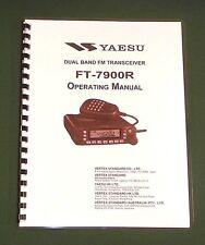 Yaesu FT-7900R Operating Manual -  Premium Card Stock Covers & 32 LB Paper!