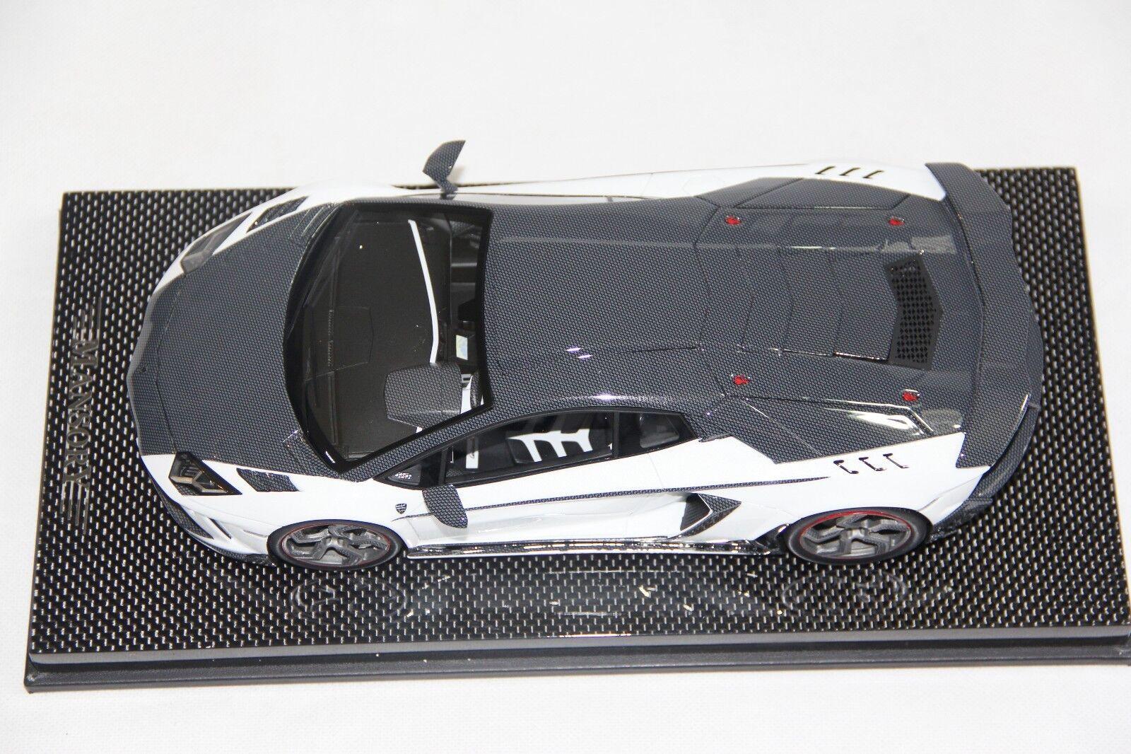 Mansory Lamborghini Carbonado Carbonado Carbonado GT White Carbon, Ltd 30 pcs 1 18 Mansory 93658a