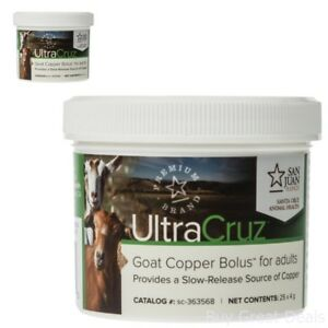 Ultracruz Goat Copper Bolus For Adults 25 Count X 4 Grams