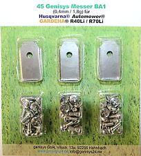 45 Ersatz - Messer - Klingen 0,40mm für Husqvarna Automower / Gardena Mähroboter
