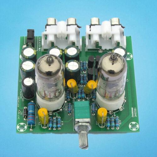 6J1 Valve Pre-amp Tube Vorverstärker Tafel DIY KIT Headphone Buffer Case AC 12V