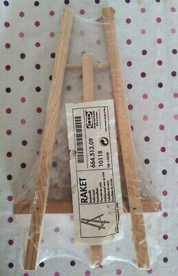 Ikea Raket Caballete De Soporte De Madera Nuevo Ebay