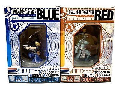 Hiromu Arakawa JAPAN Fullmetal Alchemist Book in Figure Blue