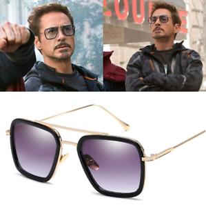 più foto 539dd cb2c0 Dettagli su Marvel Tony Stark Uomini Occhiali da sole Volo 006 FASHION  Avengers Iron Man Glasses UK- mostra il titolo originale