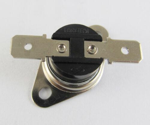10A 250V Thermostat Bimetal Disc Temperature Switch 10x KSD301 Normal Open N.O