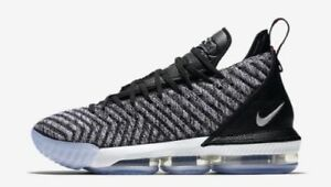 22acff85101 Nike Lebron James 16 XVI size 16. Oreo Black Metallic Silver White ...